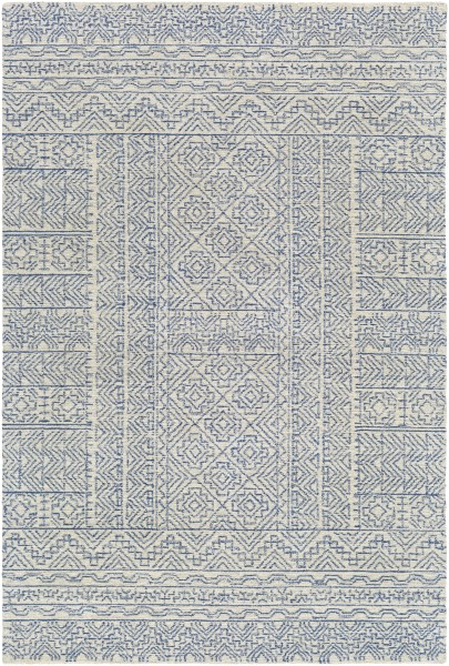 Grey, Cream (MAR-2316) Contemporary / Modern Area Rug