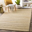 Product Image of White, Cream Striped Area Rug