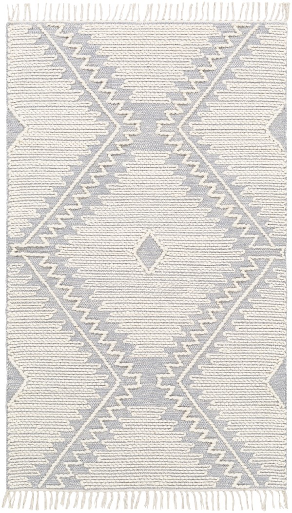 Grey, Cream (BDO-2303) Bohemian Area Rug