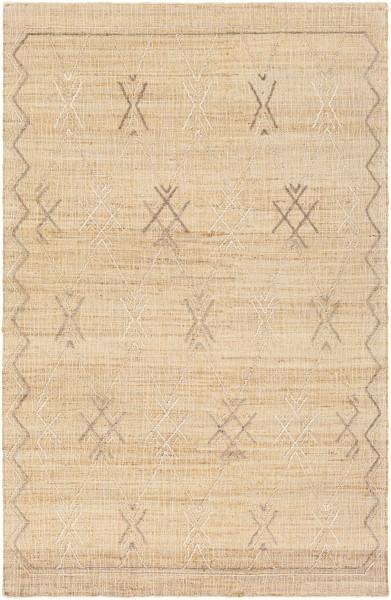 Wheat (ARE-2302) Moroccan Area Rug