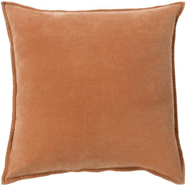 Burnt Orange, Camel (CV-002) Solid pillow
