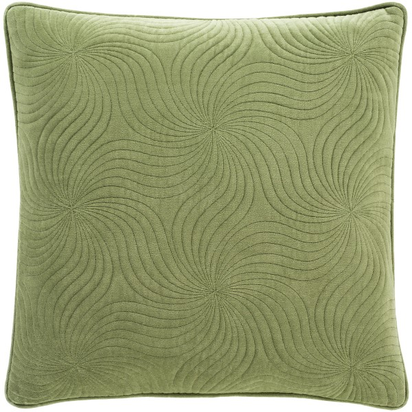 Grass Green (QCV-007) Solid pillow