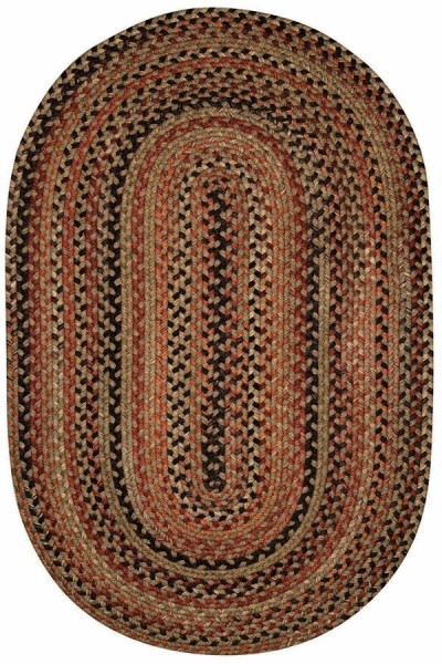 Brown   Country Area Rug