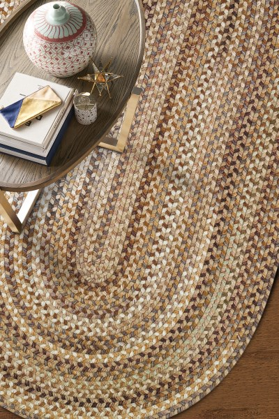 Beige   Country Area Rug