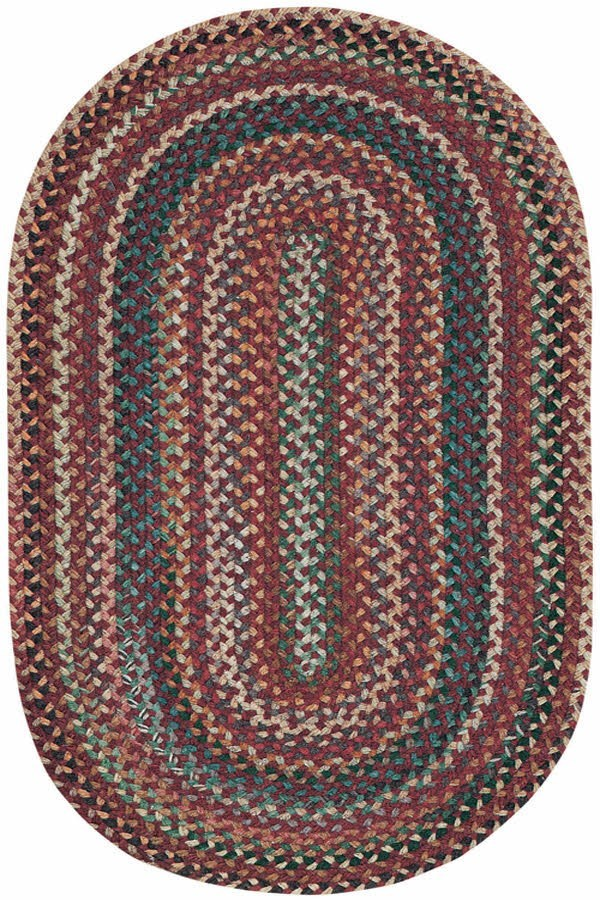 Red Country Area Rug