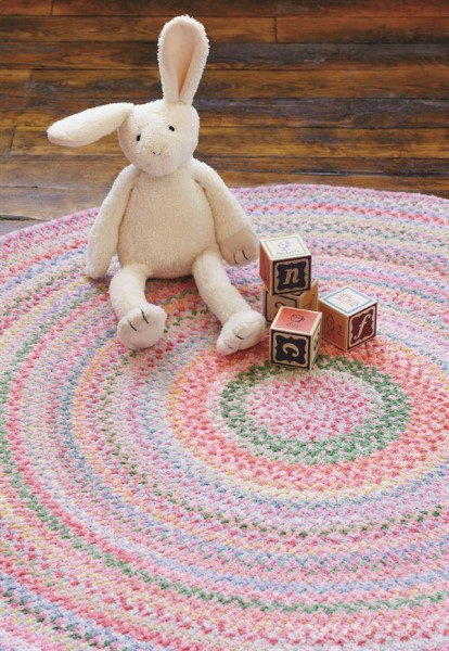 Pink Country Area Rug
