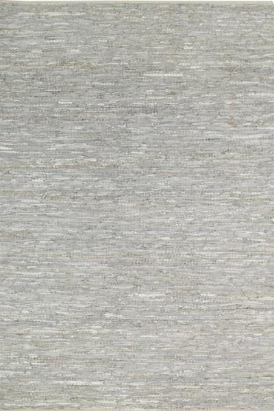 Silver Grey Contemporary / Modern Area Rug