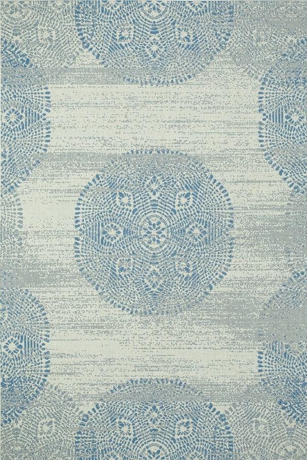 Blueberry Mandala Area Rug
