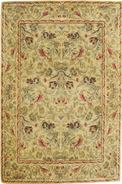 Chamois Traditional / Oriental Area Rug