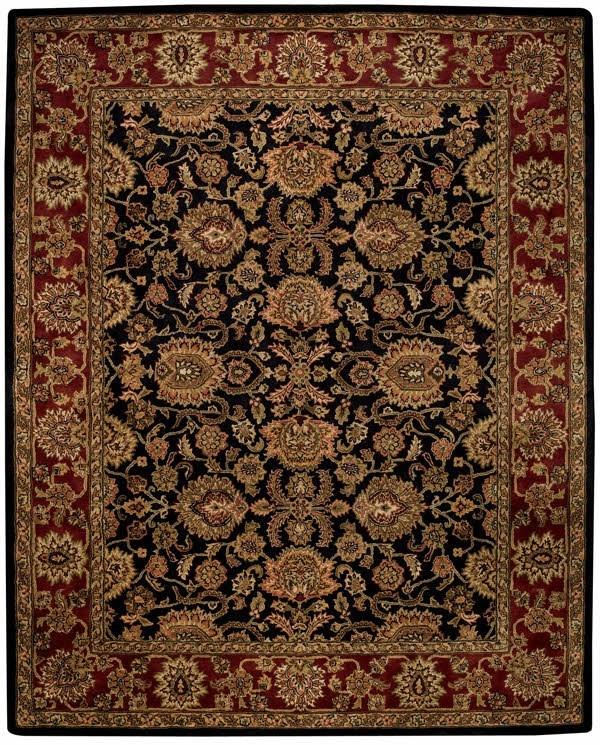 Ebony Traditional / Oriental Area Rug