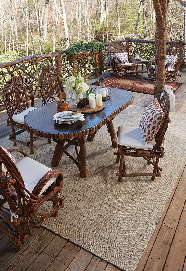 Sandy Beach Outdoor / Indoor Area Rug
