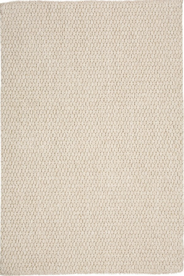 Cream Casual Area Rug