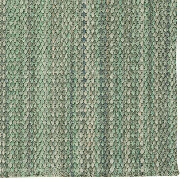 Green Solid Area Rug
