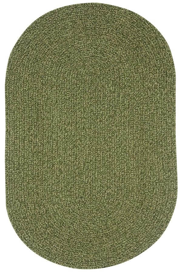 Deep Green Solid Area Rug
