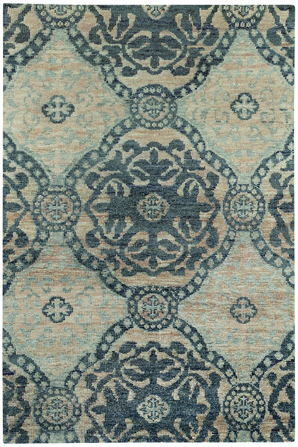 Blueberry Transitional Area Rug