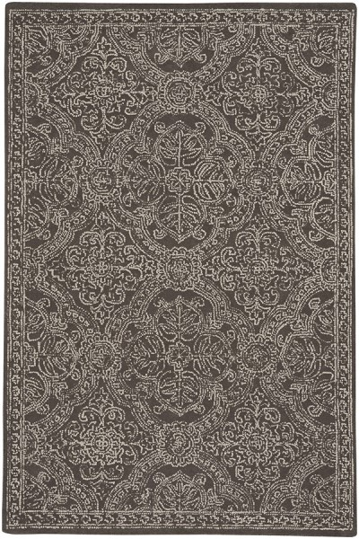 Coffee Contemporary / Modern Area Rug