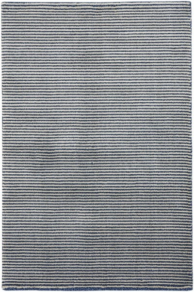 Azure Striped Area Rug