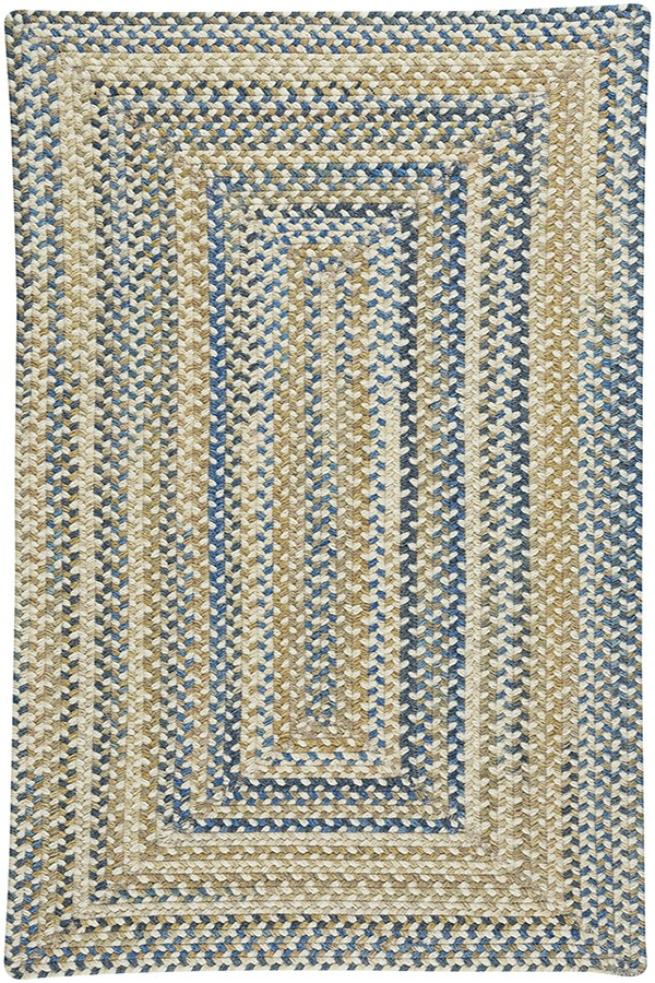 Light Tan Country Area Rug