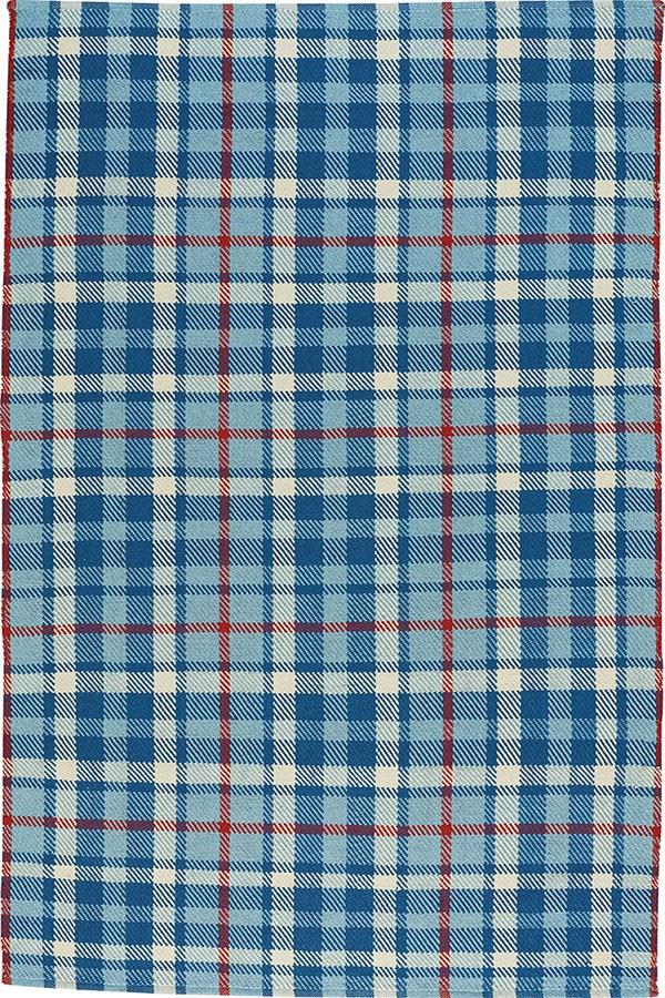 Blue (6513-430) Outdoor / Indoor Area Rug