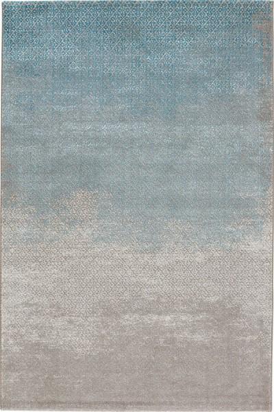 Blue (2572-430) Contemporary / Modern Area Rug