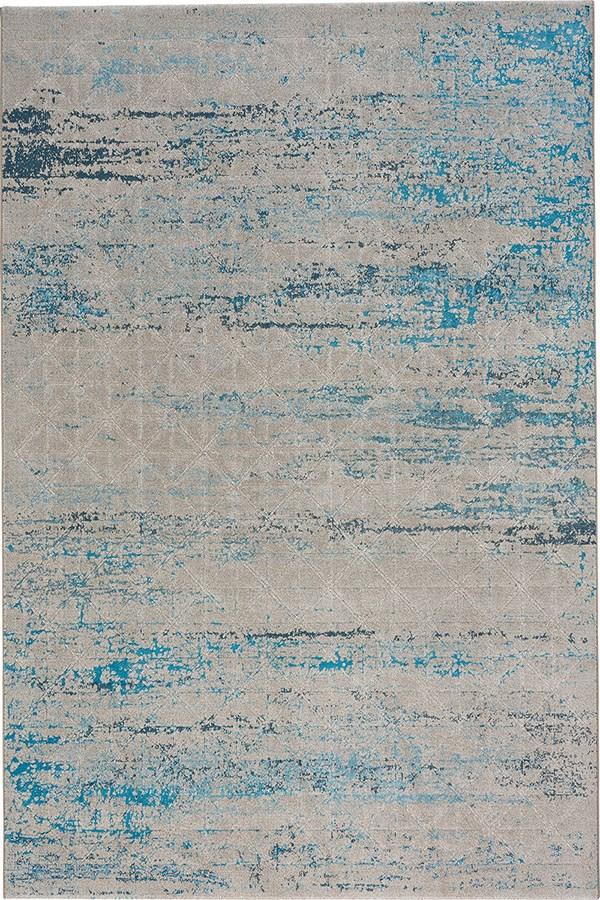 Blue (2571-400) Vintage / Overdyed Area Rug