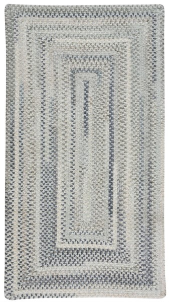 Dove Grey Country Area Rug