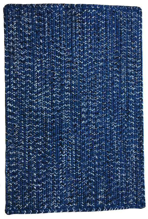 Blue, Black (450) Country Area Rug