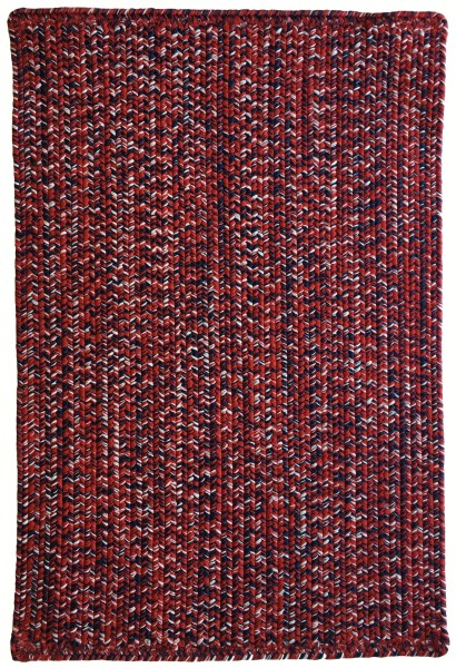 Crimson, Navy (530) Country Area Rug