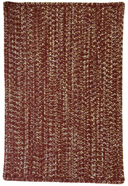 Maroon, Gold (550) Country Area Rug