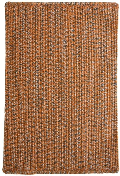 Orange, Grey (820) Country Area Rug