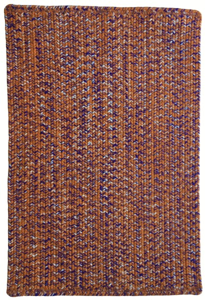 Orange Regalia (830) Country Area Rug