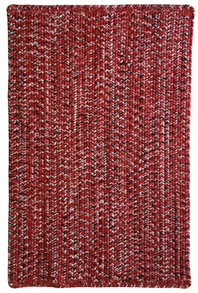 Red, Black (525) Country Area Rug