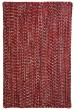 Product Image of Country Red, Black (525) Area Rug