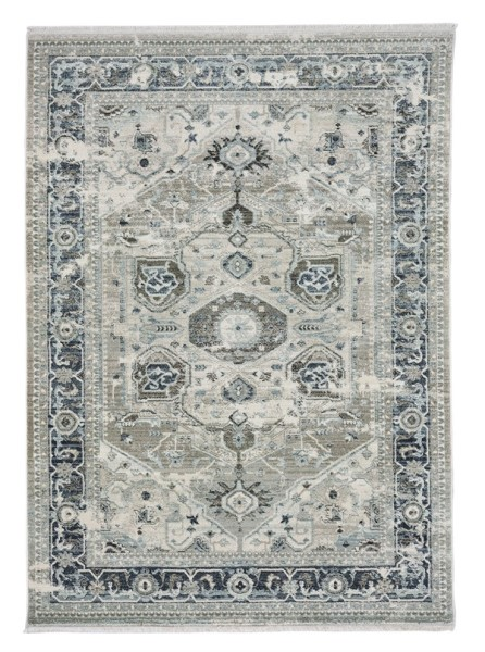 Silver, Grey Outdoor / Indoor Area Rug
