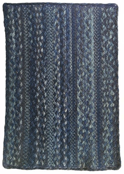 Blue Steel Country Area Rug