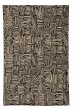 Product Image of Contemporary / Modern Coal (350) Area Rug