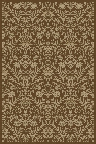 Brown (4948) Traditional / Oriental Area Rug