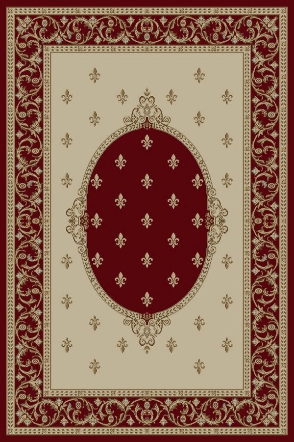 Concord Global Jewel Fleur De Lys Medallion Rugs Rugs Direct