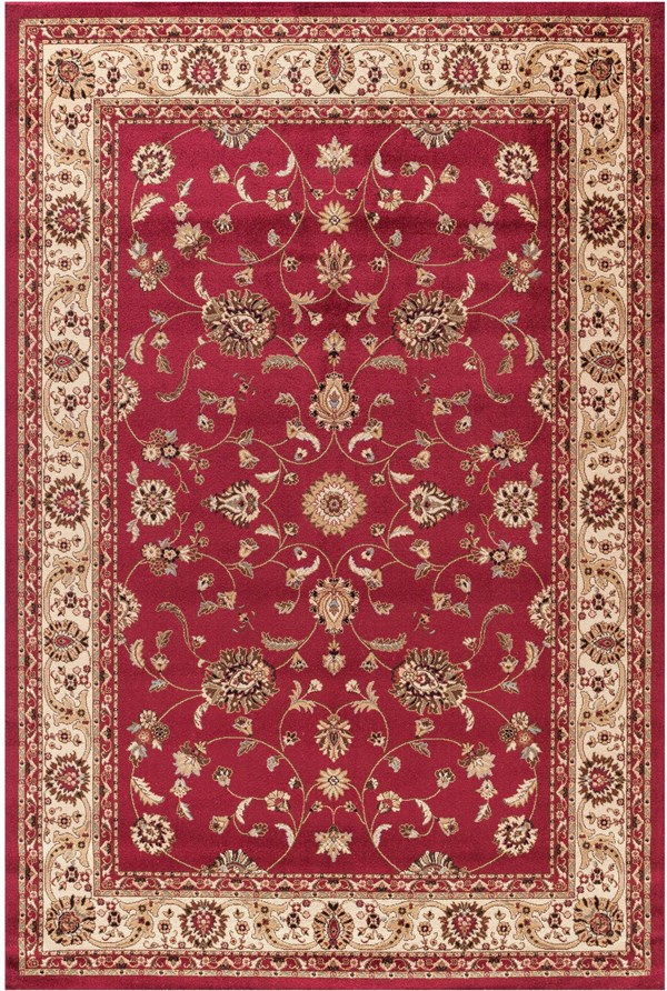 Red (4930) Traditional / Oriental Area Rug