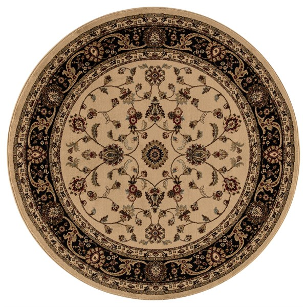 Ivory (4932) Traditional / Oriental Area Rug