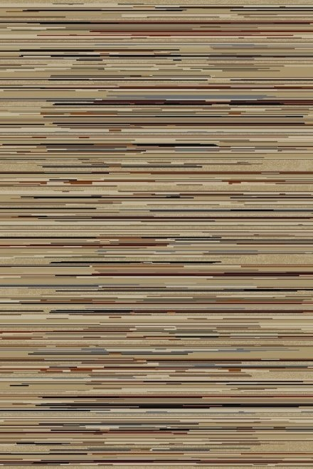 Beige, Brown (4961) Striped Area Rug