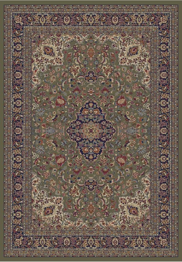 Green (4105) Traditional / Oriental Area Rug