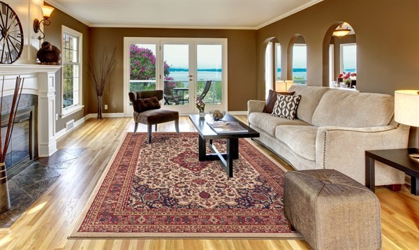 Ivory (4102) Traditional / Oriental Area Rug