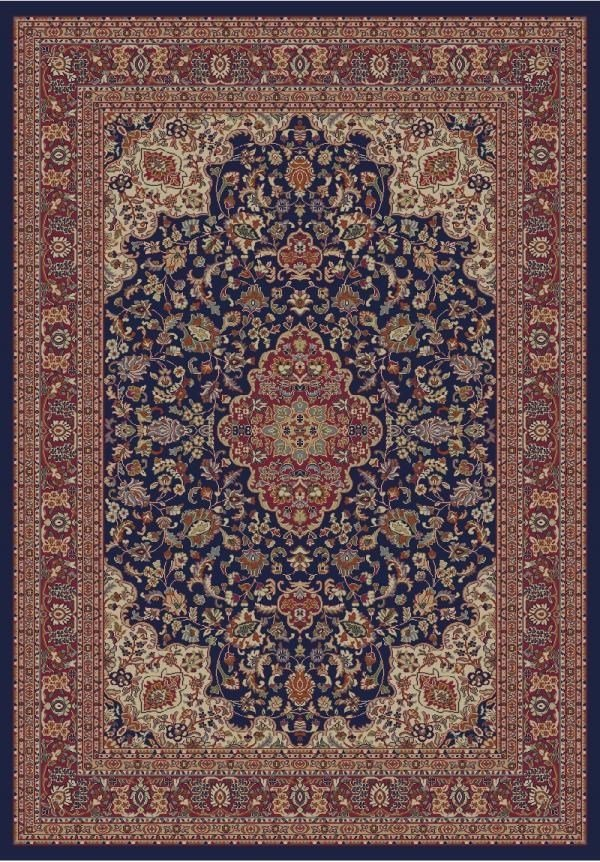 Navy (4104) Traditional / Oriental Area Rug