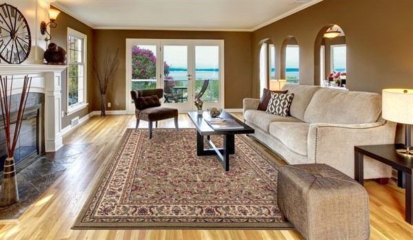 Green (4065) Traditional / Oriental Area Rug