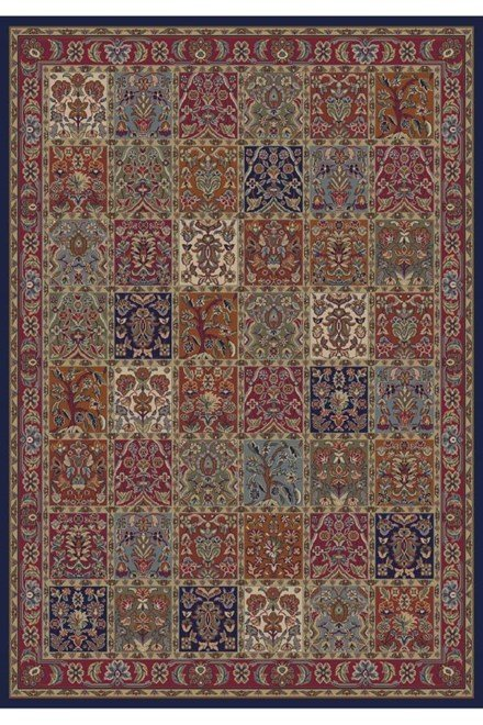 Red (4080) Traditional / Oriental Area Rug