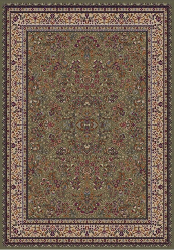 Green (4115) Traditional / Oriental Area Rug