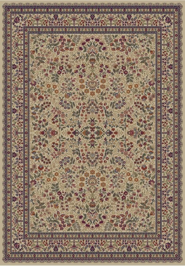 Ivory (4112) Traditional / Oriental Area Rug