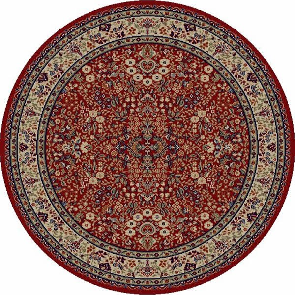Red (4110) Traditional / Oriental Area Rug
