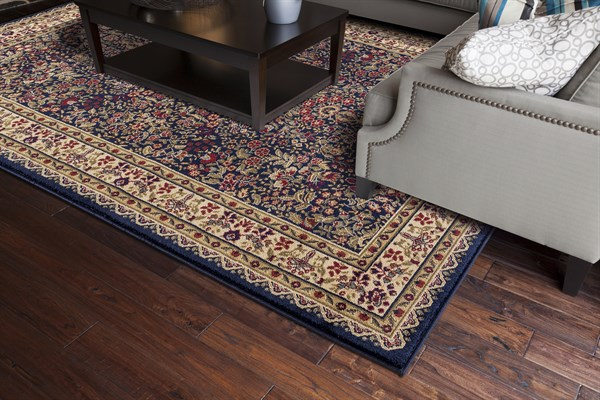 Navy (4114) Traditional / Oriental Area Rug